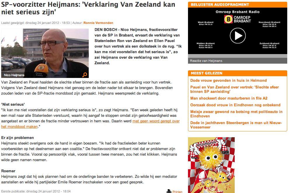 20120124_omroepbrabant_sp-voorzitter_heijmans-verklaring_van_zeeland_kan_niet_serieus_zijn