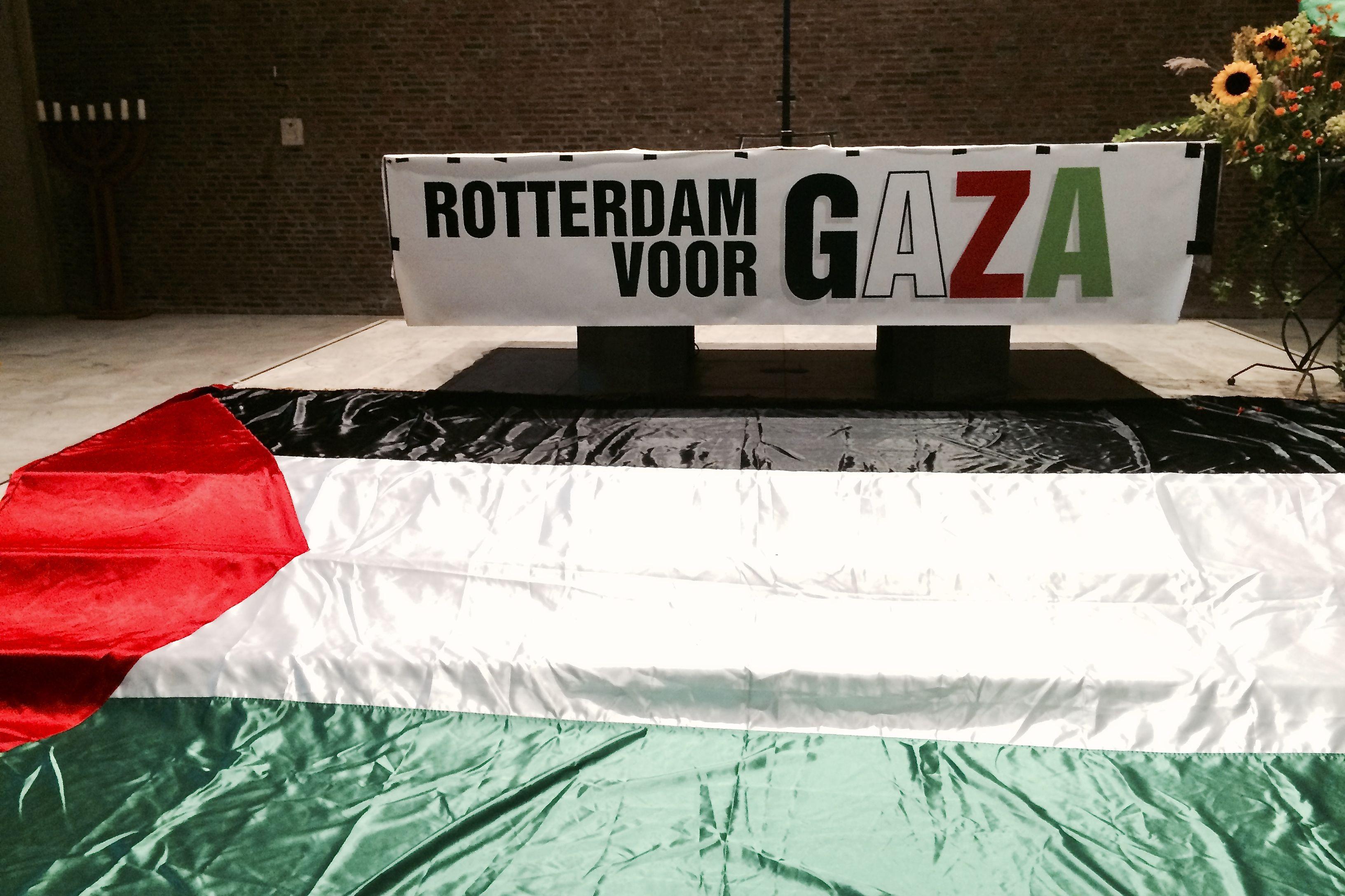 Rotterdam voor Gaza - Gaza Palestina Israel Rotterdam